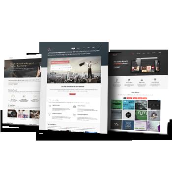 Custom website redesign services